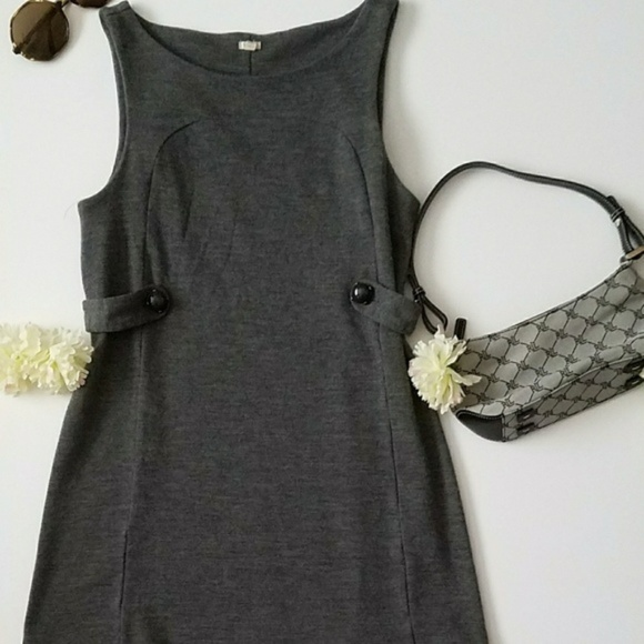 fa5474d88a J. Crew Dresses | J Crew Wool Jersey Stephanie Dress Grey M | Poshmark